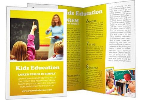 15 education brochure templates free premium web