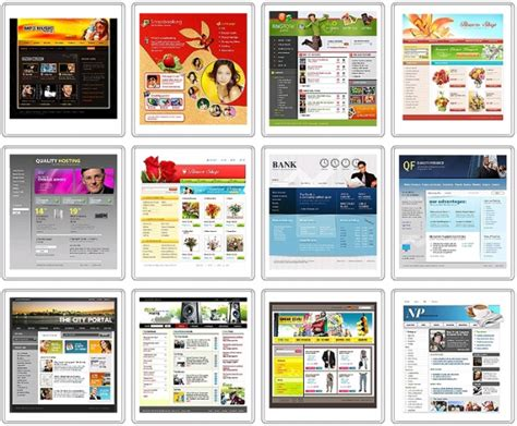 go html template website templates 499 software projects inc