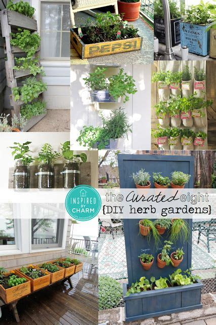 diy herb garden carolina charm the curated eight diy herb gardens gardens herbs