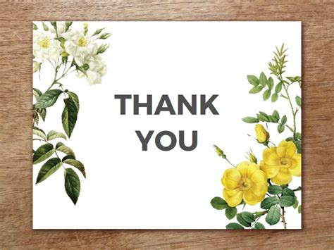 best thank you card template 23 best printable thank you cards images on