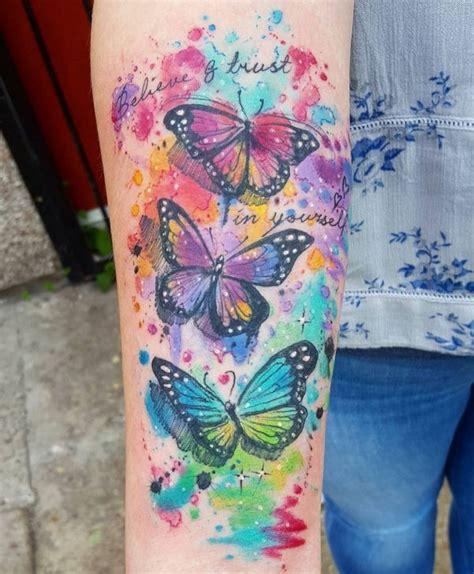 schmetterling tattoo designs mit bedeutungen 40 ideen