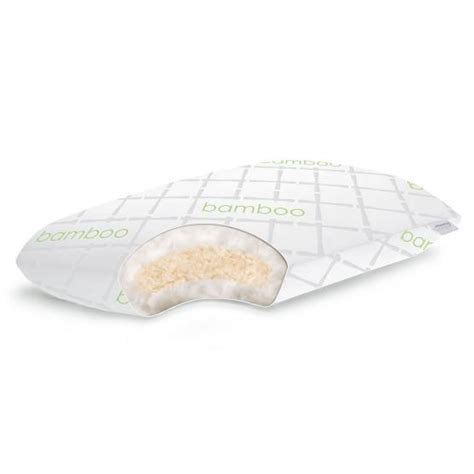 shredded talalay with gel fiber pillow by linenspa