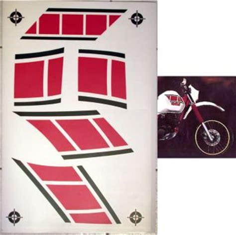 Aufkleber Yamaha Xt 600 by Yamaha Xt 600 Tenere Dekor Xt600 E Xt600e Aufkleber Gravocut