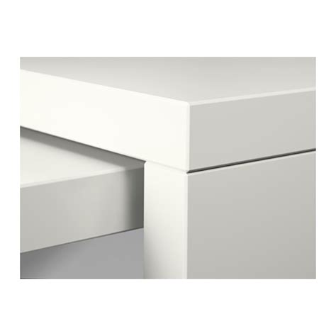 Desk With Pull Out Work Surface by Malm Desk With Pull Out Panel White 151x65 Cm