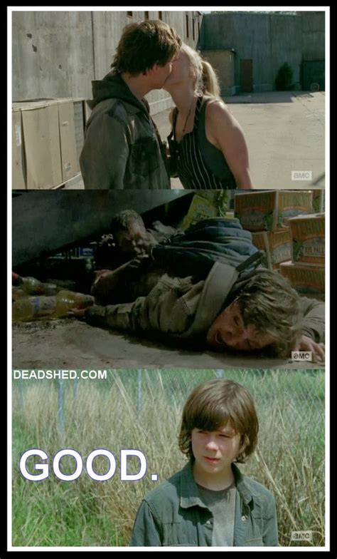 Walking Dead Season 4 Meme - contains spoilers twd 4x01 quot 30 days without an accident