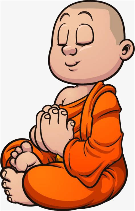 namaste clipart illustrations of monks chanting the
