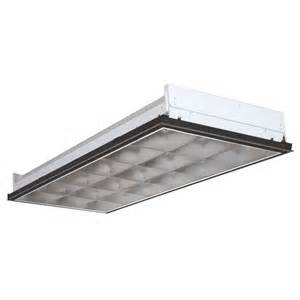 fluorescent 2x4 light fixtures lithonia lighting 3 light white fluorescent parabolic