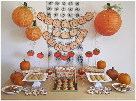 fall themed baby shower decorating ideas for baby shower centerpieces baby