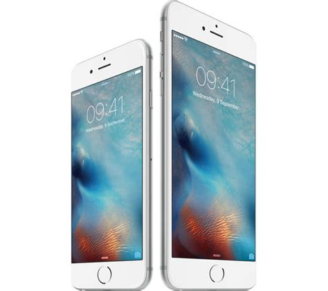 buy apple iphone   gb silver  delivery currys