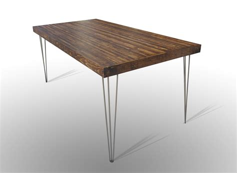 72x36 dining table with hairpin legs harvest dark ale