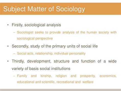 what is matter meaning meaning nature subject matter of sociology