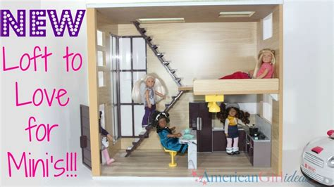 ag mini doll house lori by og loft to love dollhouse american girl ideas american girl ideas