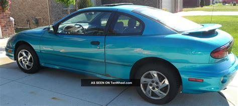 2000 Pontiac Sunfire Coupe by 2000 Pontiac Sunfire Se Coupe 2 Door 2 2l