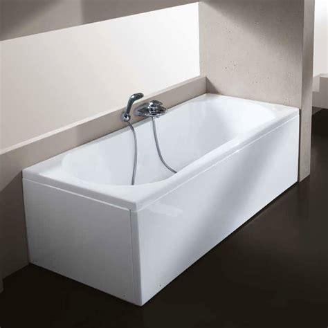 vasche da bagno incassate glass vasca con pannello 70 x 140 cm in vetroresina