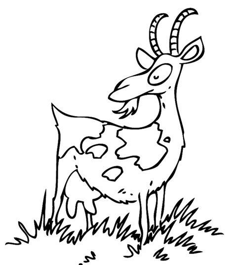 Beste Farben Zum Der Küchen Kabinette Zu Malen by Kostenlose Malvorlage Tiere Ziege Auf Der Wiese Zum Ausmalen