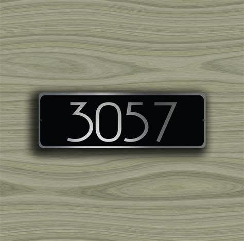 Custom Door Signs by Custom Door Number Sign 2 Decamoda