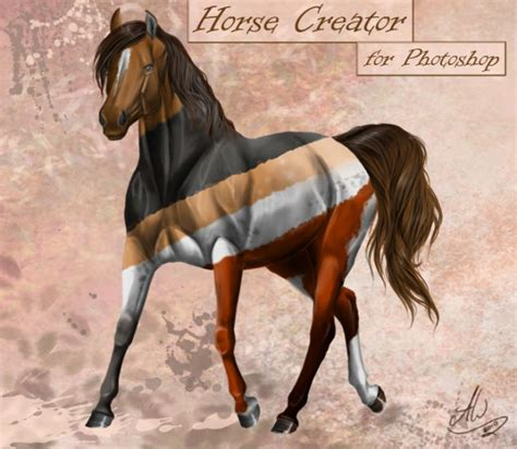 horse templates for photoshop horse free template psd psd file free download