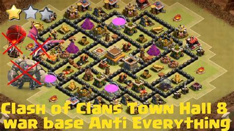 clash of clan 8 town hall war base town hall 8 clash of clans war base www pixshark com