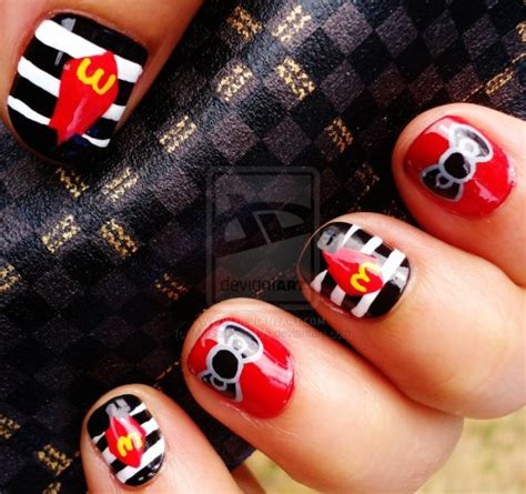 inspirational designs   kitty nails