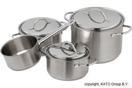 demeyere resto batterie de cuisine 7 pi 232 ces 4 casseroles