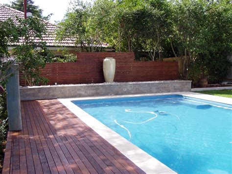 Landscape Timbers Around Pool Lanning Landscapes Timber Decking Shore