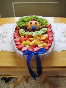 Fruit tray i made for bailey s baby shower baby shower fruit tray