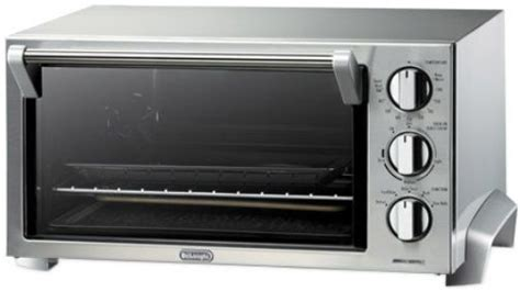 Toaster Oven Stainless Steel Interior Delonghi Eo1260 Stainless Steel Toaster Oven 1400w