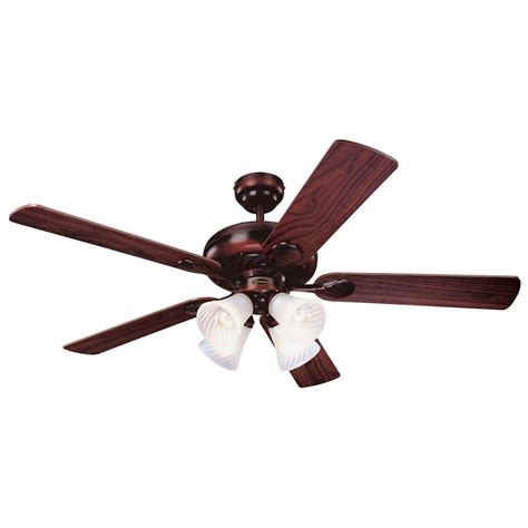 rustic ceiling fans home depot westinghouse swirl 52 in rustic bronze indoor ceiling fan