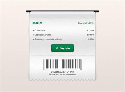 receipt template psd receipt receipt psd psd file free
