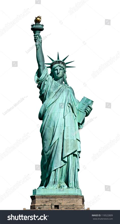 the statue of liberty national monument the symbol symbol statue liberty york stock photo