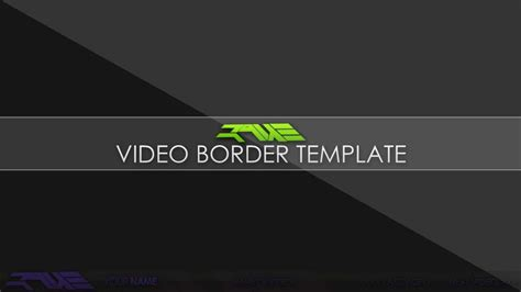 free video border template l official raue youtube