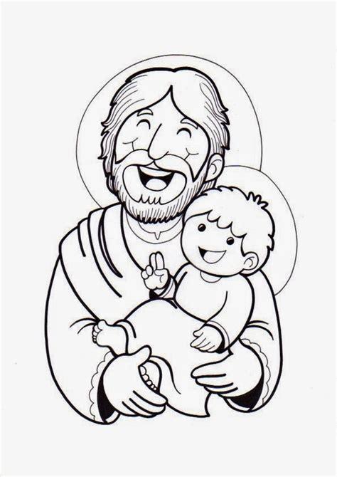 dibujos para colorear de san jose el rinc 243 n de las melli dibujo san jos 233