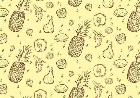 pattern vector illustrator fruit pattern download free vector art stock graphics