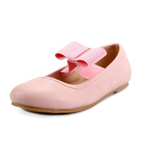 toddler flat shoes s ballet flat shoes with elastic bow toddler