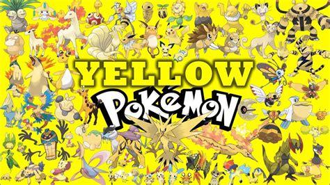 by color pok 233 mon by color yellow pok 233 mon