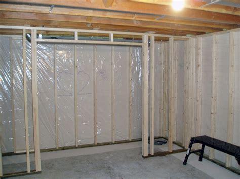 basement clothes storage