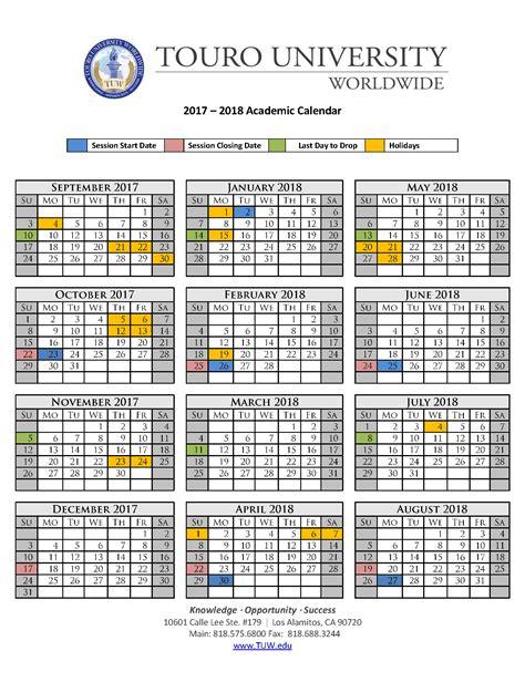 touro university worldwide 2018 17 academic calendar tire driveeasy co