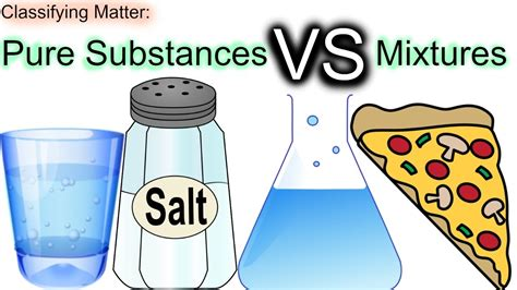 Matter Substances Vs Mixtures Worksheet Answers