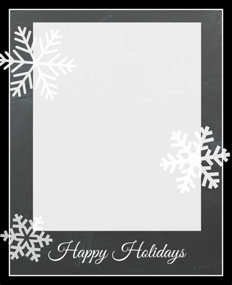 Free Christmas Card Templates Crazy Little Projects Cards Template
