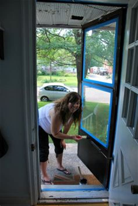 painting aluminum screen enclosures 1000 ideas about painted screen doors on pinterest wood