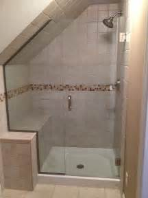 angled shower doors 17 best ideas about angled ceilings on angled