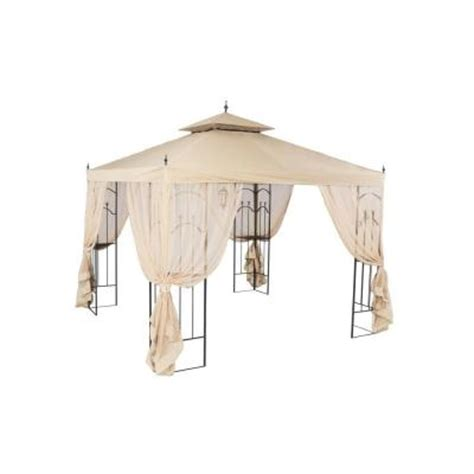 arrow gazebo hton bay 10 ft x 10 ft arrow gazebo gghl00019 the