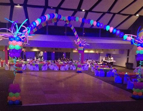 themes for college dances just dance birthday theme neon prom for frostproof high