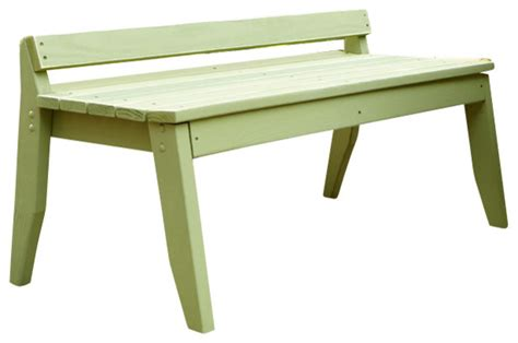 garden bench no back plaza 2 seat bench no back white distressed