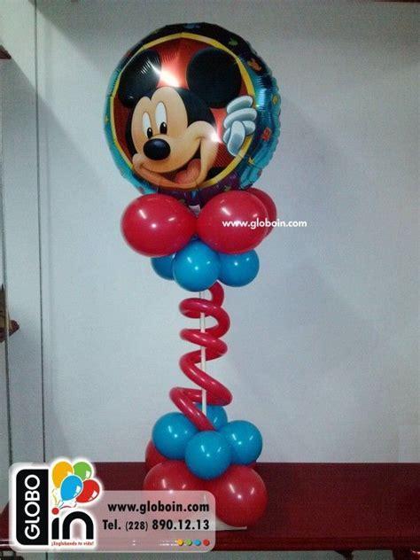 Centro de mesa Mickey Mouse 2   Globos de Mickey Mouse