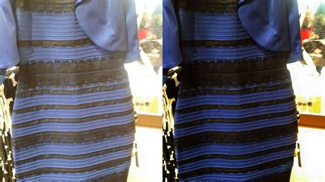 why that dress looks white and gold it s overexposed - Kleid Schwarz Blau