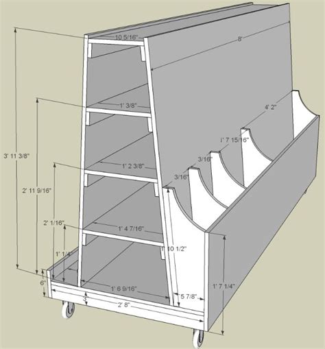 Wood Storage Rack Plans by Lumber Storage Plans Woodworking Projects Plans