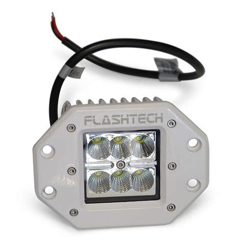 flash tech usa flashtech led fog light 6 led flush mount white