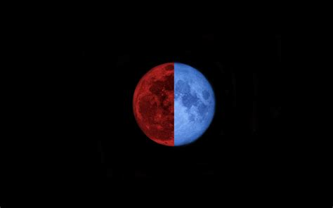 why are different colors how and why you see different color moon photos the