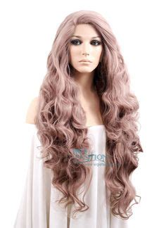 Wig Panjang Wavy 236 6a 100 human hair wigs remy ombre brown